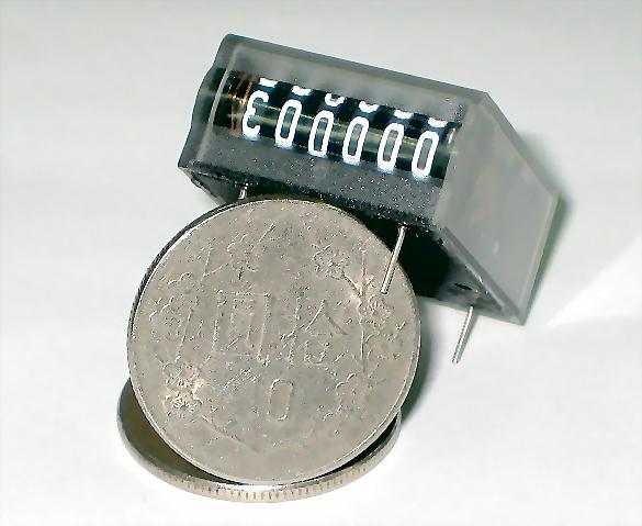 電磁式計數器(微小型/PCB)CT624M